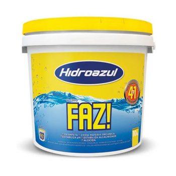 Cloro FAZ! 10Kg Hidroazul