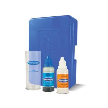 Estojo de Teste de Alcalinidade Total Hidroazul